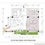 Bản vẽ thiết kế văn phòng làm việc EGM Media – Khơi nguồn sáng tạo