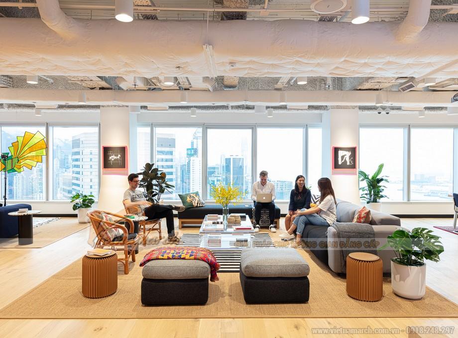 Không gian làm việc chia sẻ đang là xu hướng thiết kế văn phòng của năm