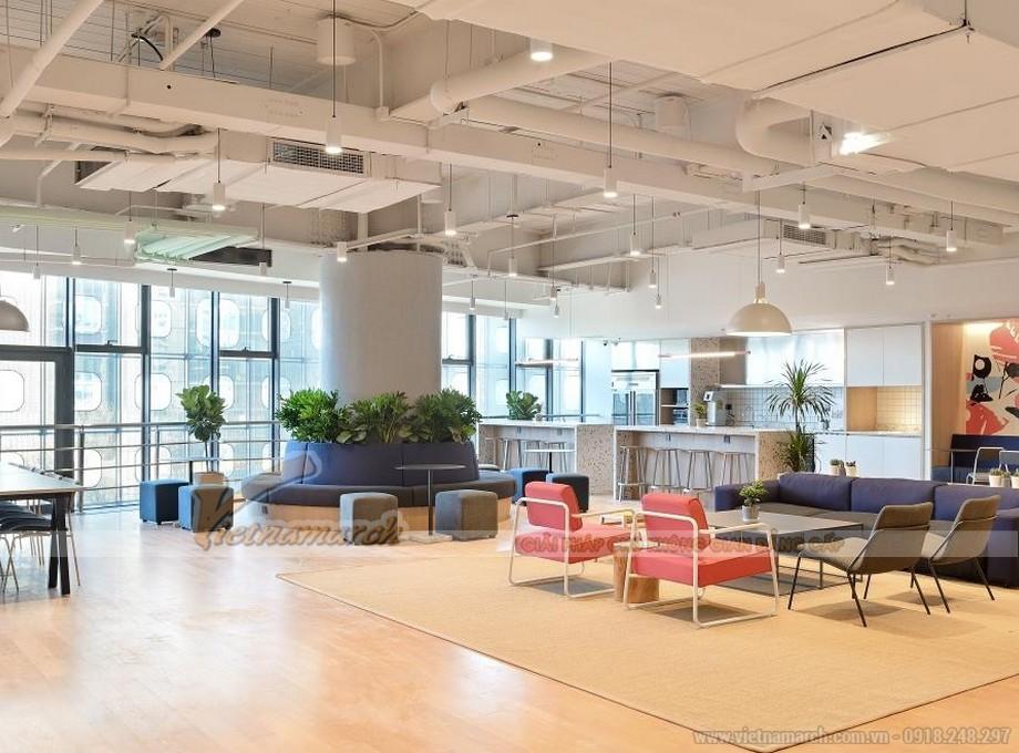 Văn phòng coworking space hiện đại