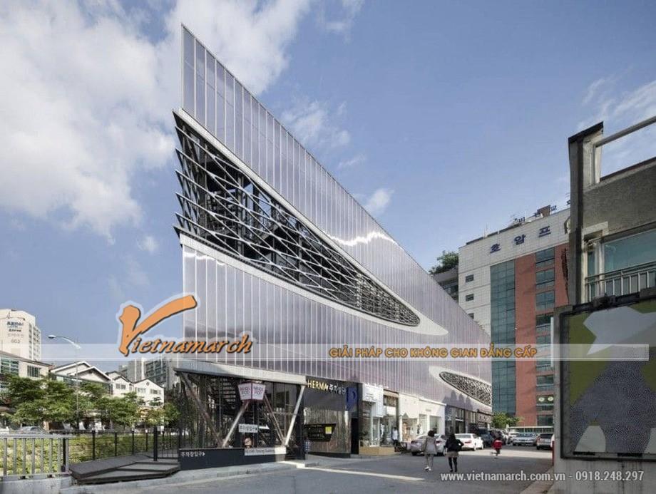 Hệ thống bãi xe thông minh Herma Parking Building tại Yongin, thủ đô Seoul, Hàn Quố