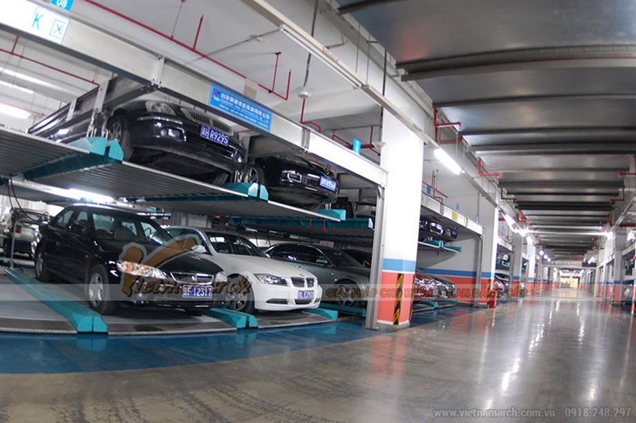 APS – Hệ thống bãi đỗ xe tự động xếp hình
