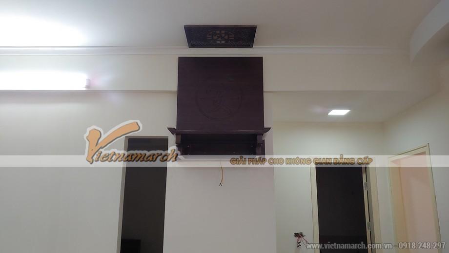 Hóa giải xà ngang trên bàn thờ cho gia chủ tại Ngọc Khánh - Ba Đình - Hà Nội