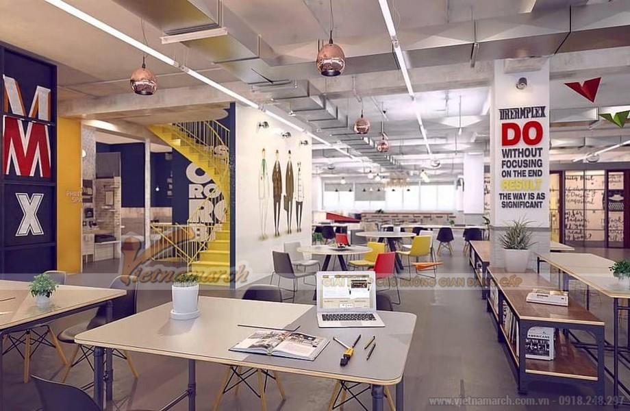 Không gian tổ chức sự kiện có thiết kế sáng tạo, trẻ trung hiện đại