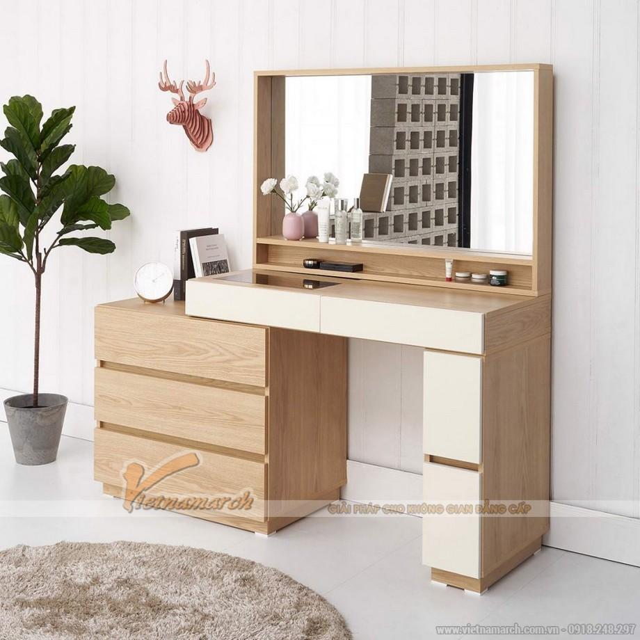 Lựa chọn kích thước bàn trang điểm phù hợp với không gian phòng