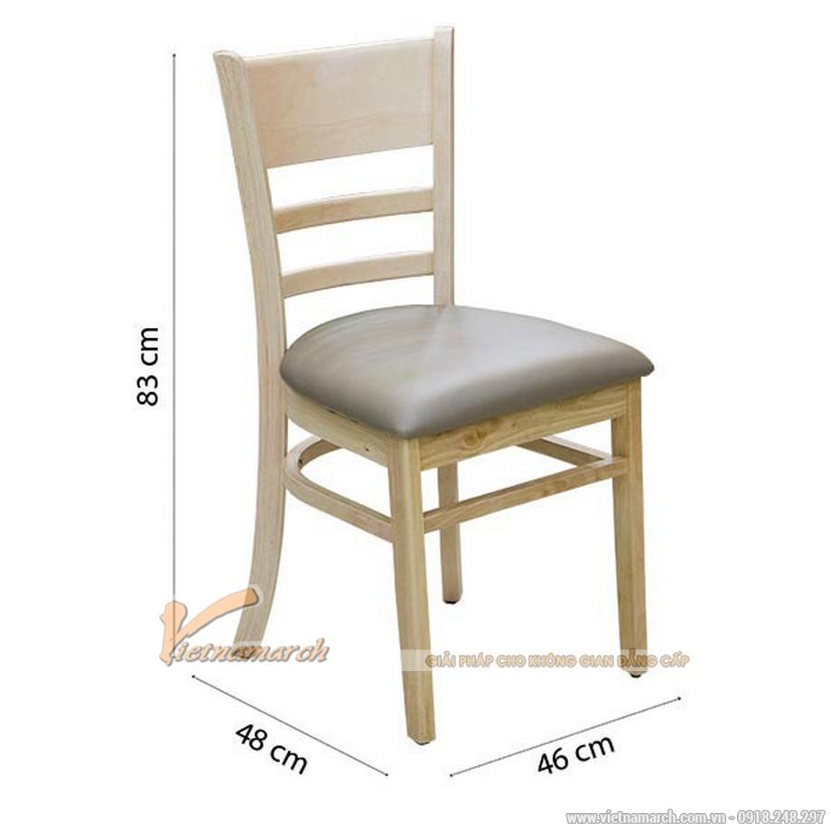 Kích thước ghế ăn tiêu chuẩn