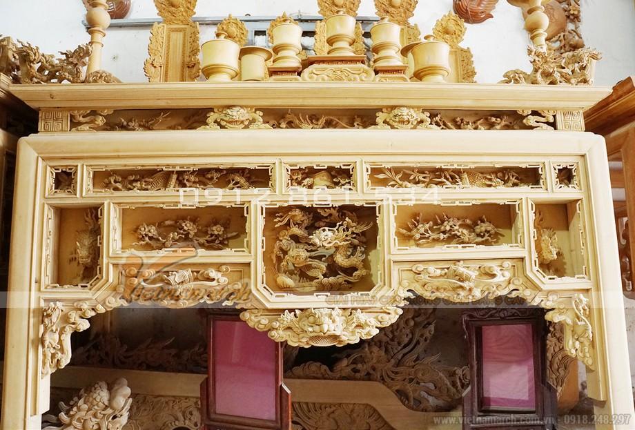 mẫu bàn thờ ô xa đẹp