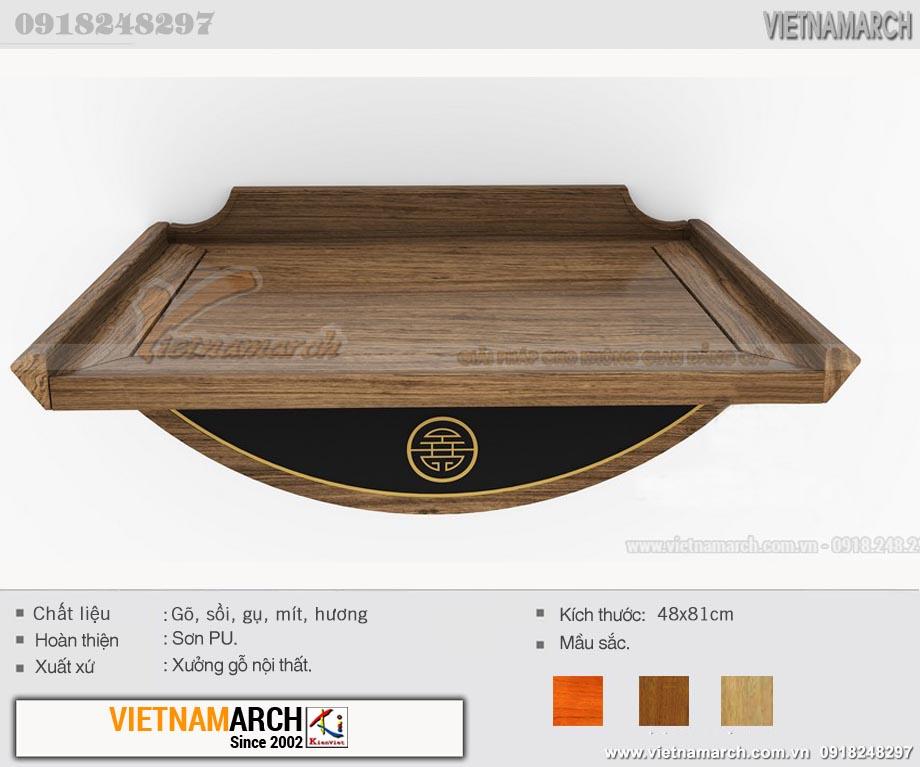 Mẫu bàn thờ công giáo đẹp