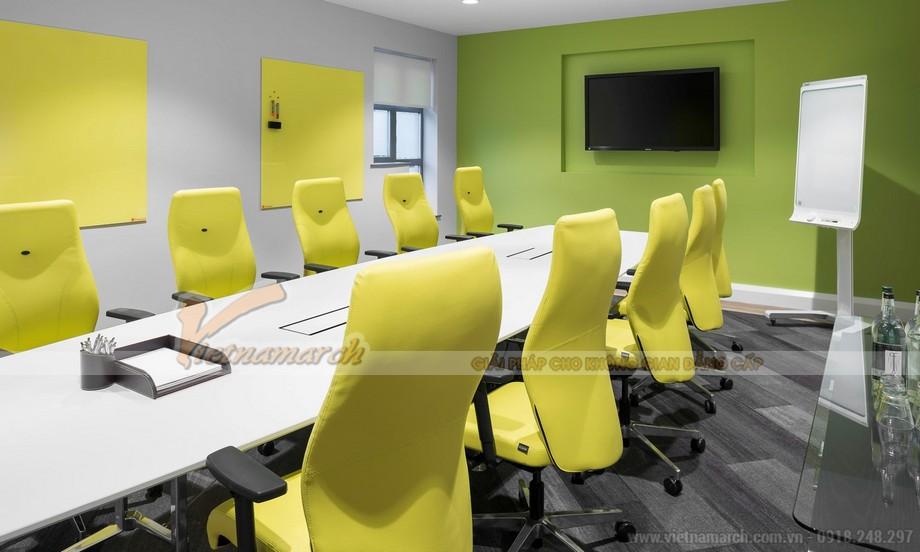 Màu sắc trong thiết kế văn phòng