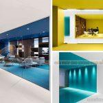 Màu sắc trong thiết kế văn phòng ảnh hưởng đến hiệu suất làm việc như thế nào