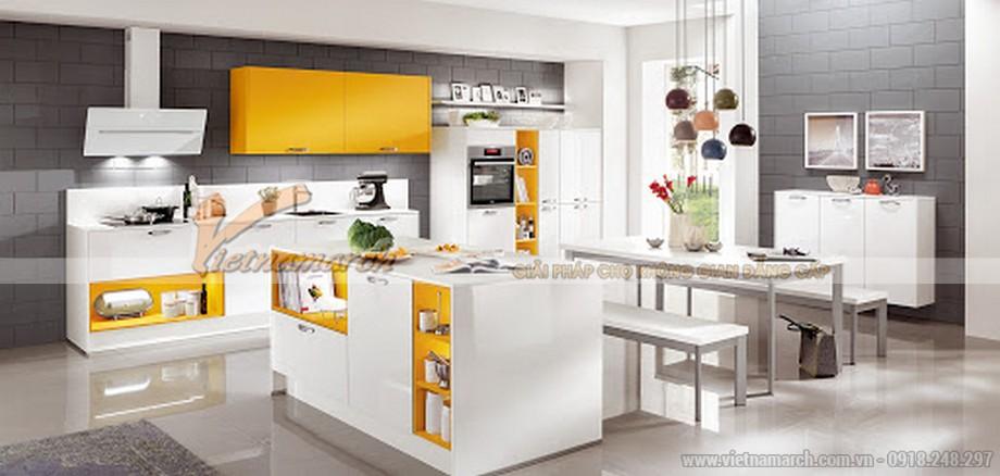 Tủ bếp cho gia chủ mệnh Kim
