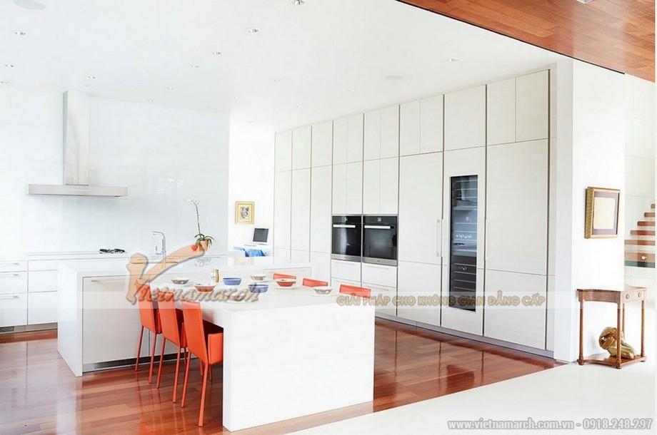 Ý tưởng thiết kế nhà bếp sáng tạo với mẫu tủ bếp đơn giản mà đẹp