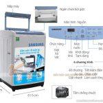 Kích thước máy giặt chuẩn và thông dụng nhất hiện nay đến từ các thương hiệu