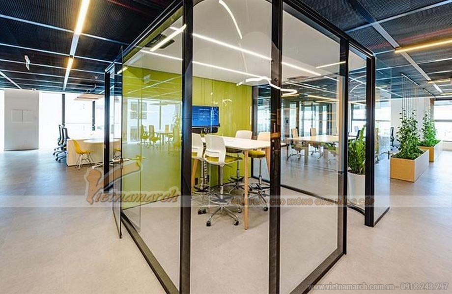 Phòng làm việc nhỏ dành cho các nhóm hoặc công ty startup quy mô nhỏ