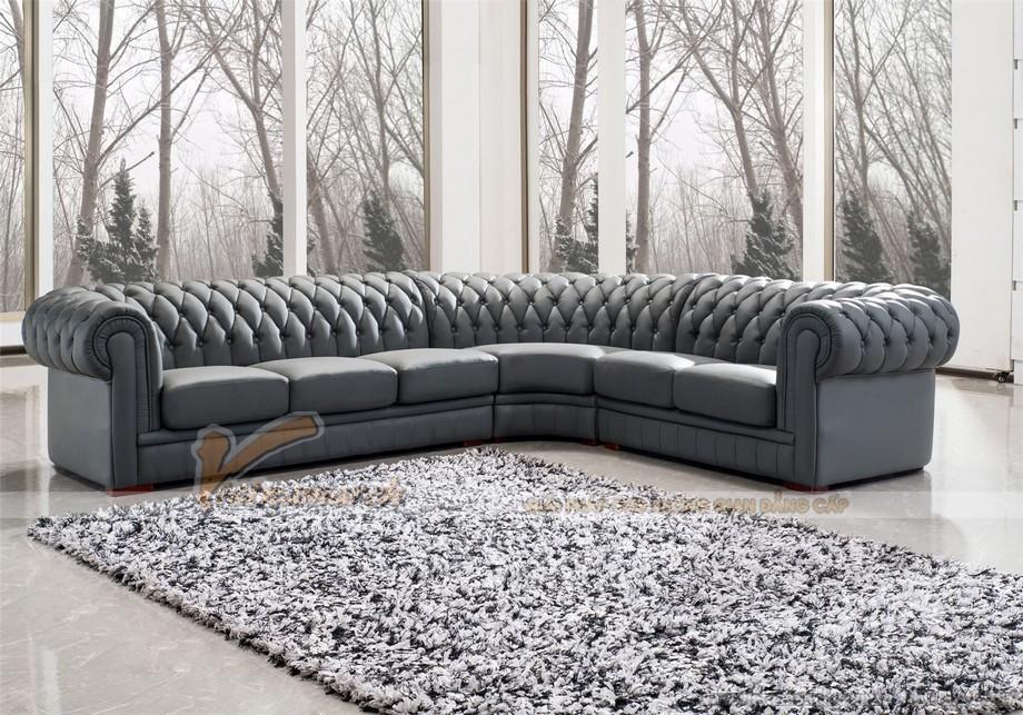 Sofa góc cổ điển nhập khẩu