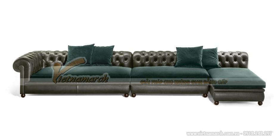 Sofa góc nhập khẩu đẹp giá rẻ
