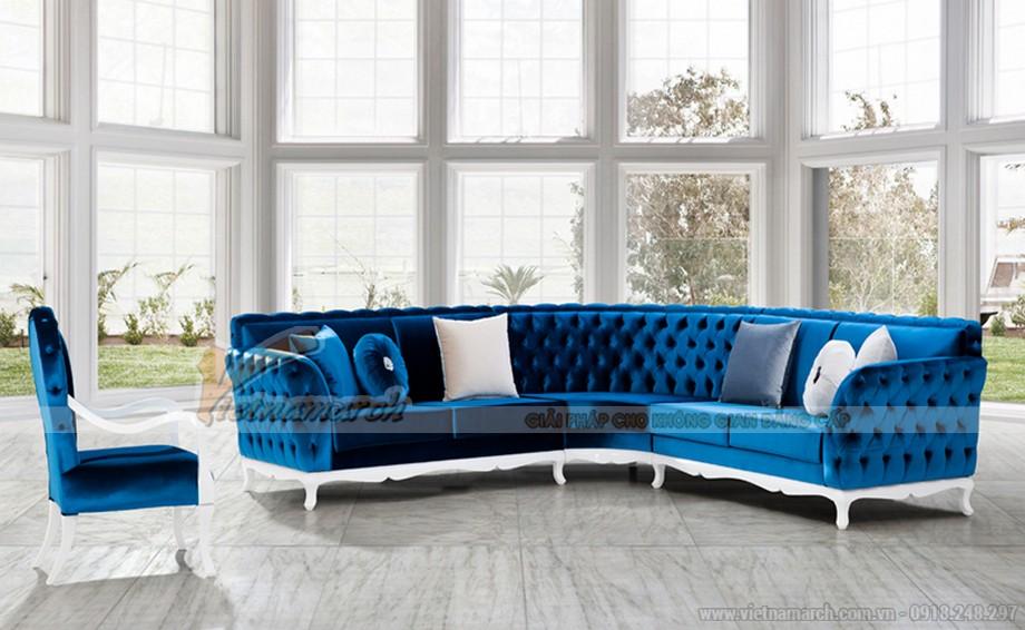 Mẫu sofa góc giá rẻ