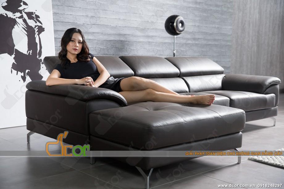 Sofa góc cổ điển loại chữ L