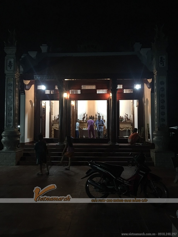 Thi công nhà thờ họ nhỏ 30m2 với chi phí 300 triệu tại Móng Cái - Quảng Ninh