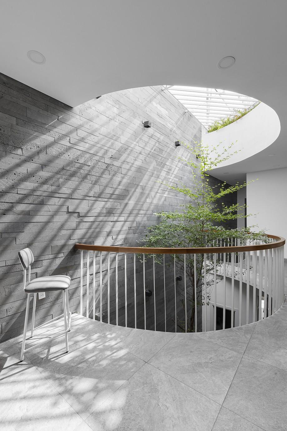 mẫu thiết kế văn phòng kết hợp nhà ở tại TP.HCM