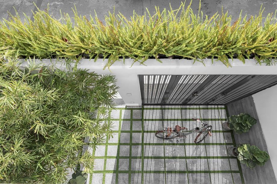 Ý tưởng thiết kế nội văn phòng kết hợp nhà ở