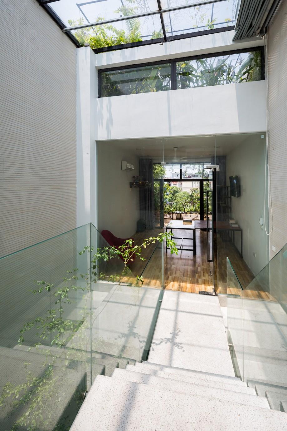 Thiết kế nhà ống 3 tầng 4x20m tràn ngập cây xanh tại Bắc Ninh