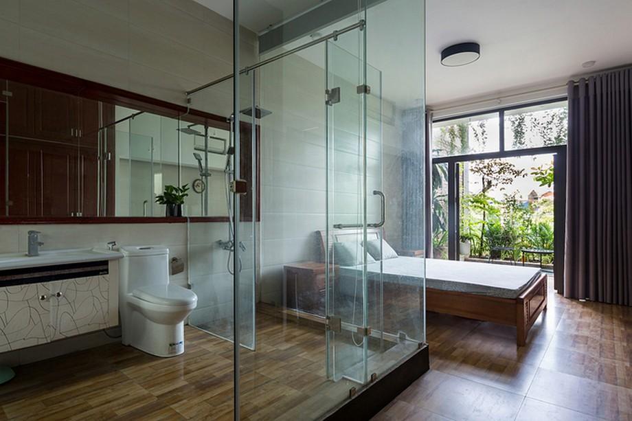 Thiết kế phòng ngủ hiện đại trong mẫu nhà ống 4x20m