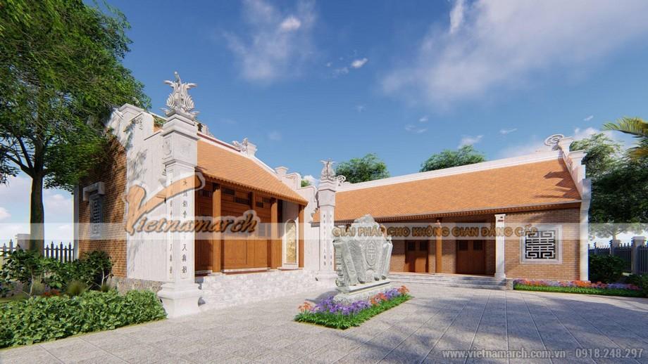 Thiết kế nhà thờ họ nhỏ 30m2 tại Móng Cái Quảng Ninh