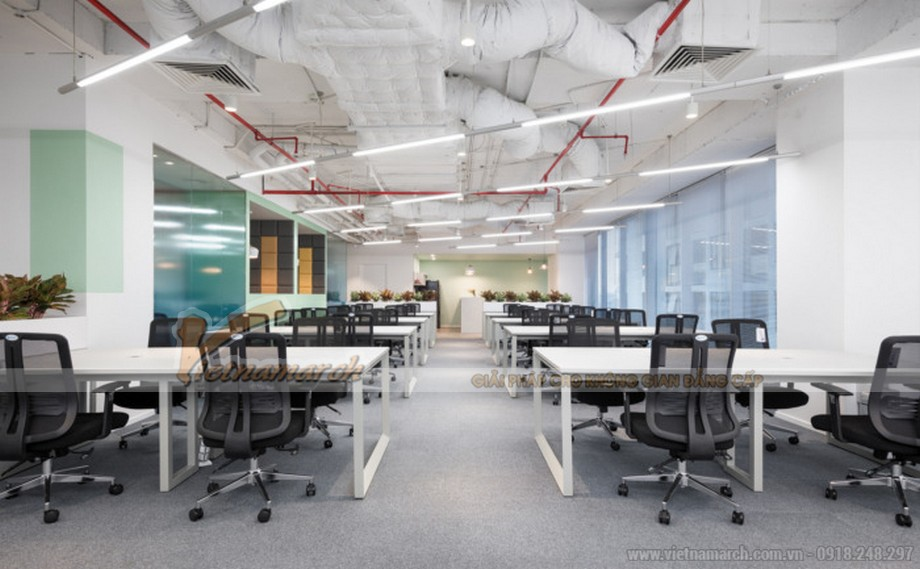 Thiết kế văn phòng công nghệ Cinnamon AI Labs Hà Nội
