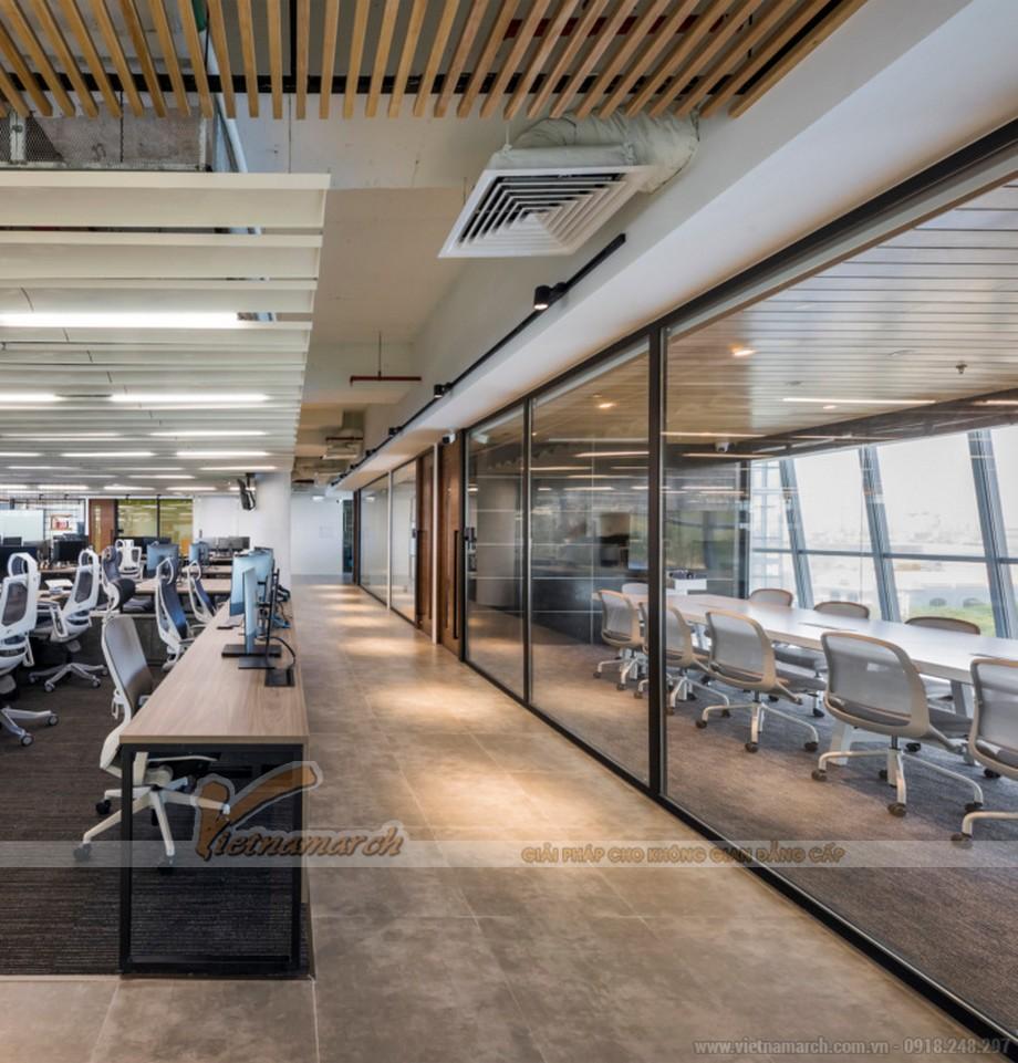 Thiết kế văn phòng công nghệ thông tin NAB Studio HCM