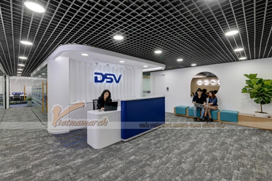 Thiết kế văn phòng giao dịch vận tải DSV Hồ Chí Minh
