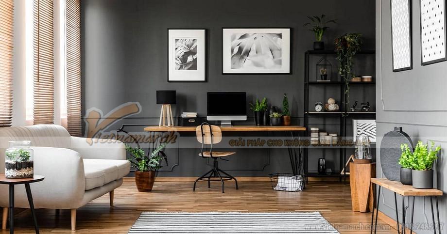 Thiết kế văn phòng kết hợp nhà ở