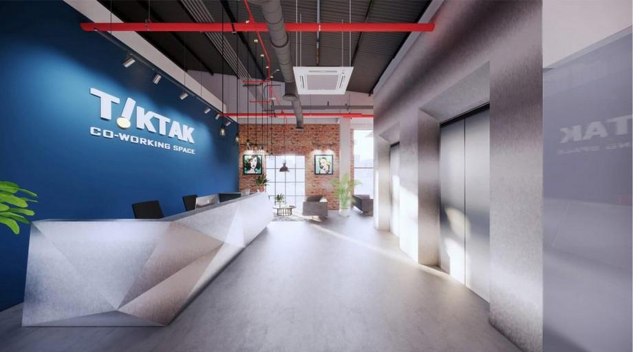 Thiết kế văn phòng hạng A Tiktak co-working space Đà Nẵng