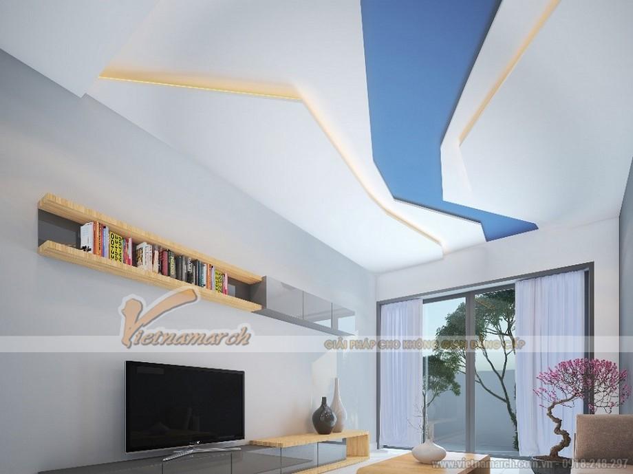 mẫu trần thạch cao dành cho nhà nhỏ