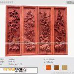 Vietnamarch – Xưởng sản xuất tranh gỗ phòng khách, phòng thờ đẹp