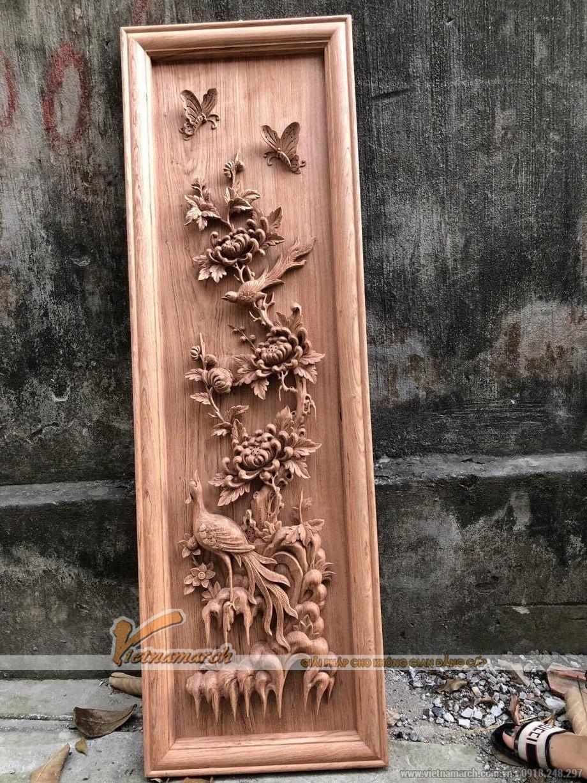 Tranh gỗ mộc