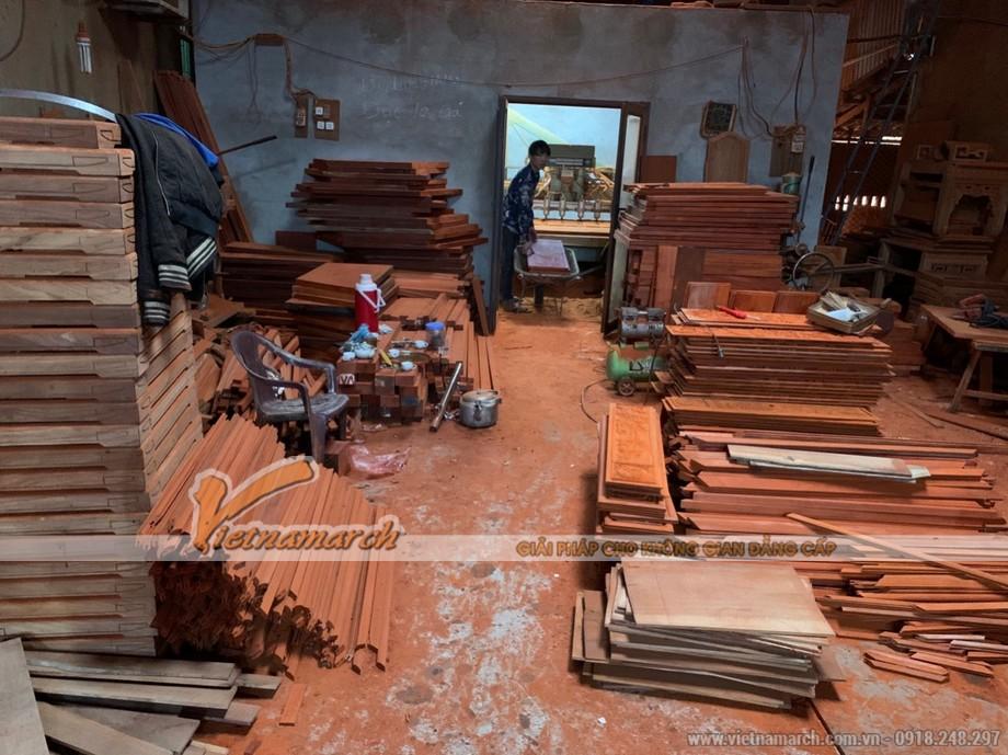Xưởng sản xuất tranh gỗ Vietnamarch