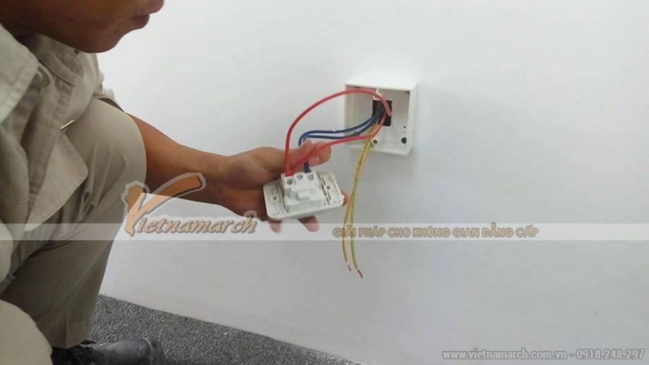 Đi dây điện âm tường mang đến tính thẩm mỹ và độ an toàn cao