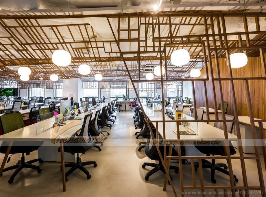 Tích hợp cách hệ thống đèn chiếu sáng mô phỏng ánh sáng mặt trời vào văn phòng