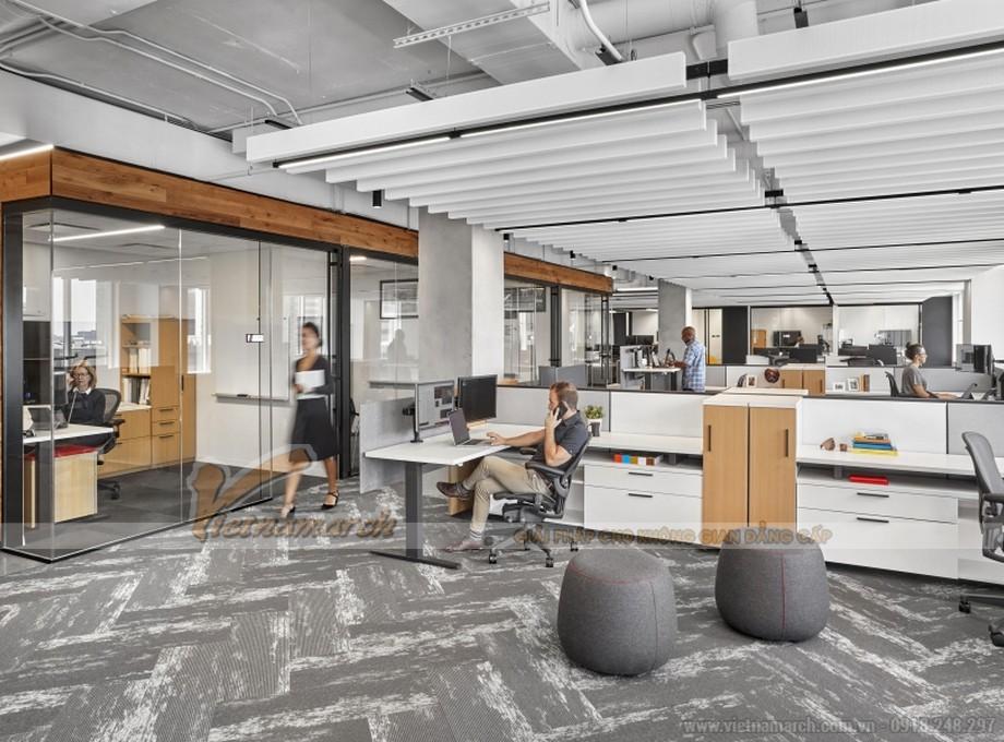 Văn phòng đa chức năng cung cấp đầy đủ thiết bị, không gian cho bạn làm việc