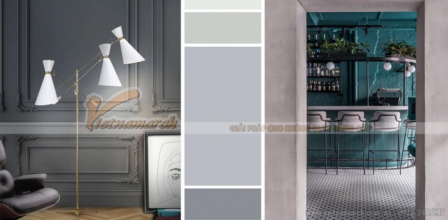 Xu hướng màu sắc trong thiết kế văn phòng 2021