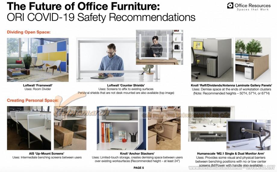 Xu hướng thiết kế văn phòng 2021