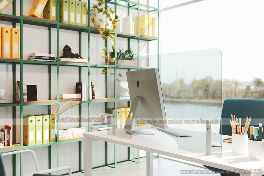 Thiết kế nội thất văn phòng hiện đại 2021