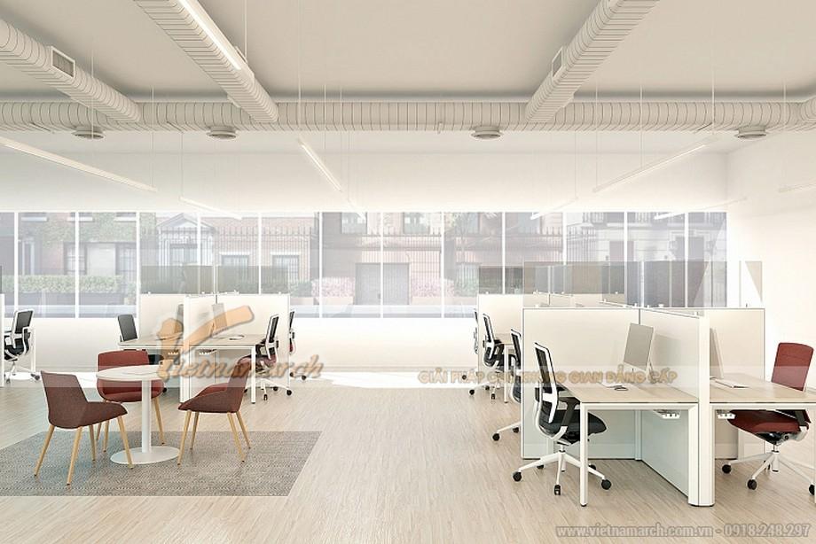 Mẫu thiết kế nội thất văn phòng đẹp 2021