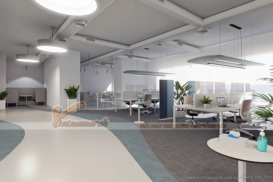 Xu hướng thiết kế văn phòng hậu covid 19