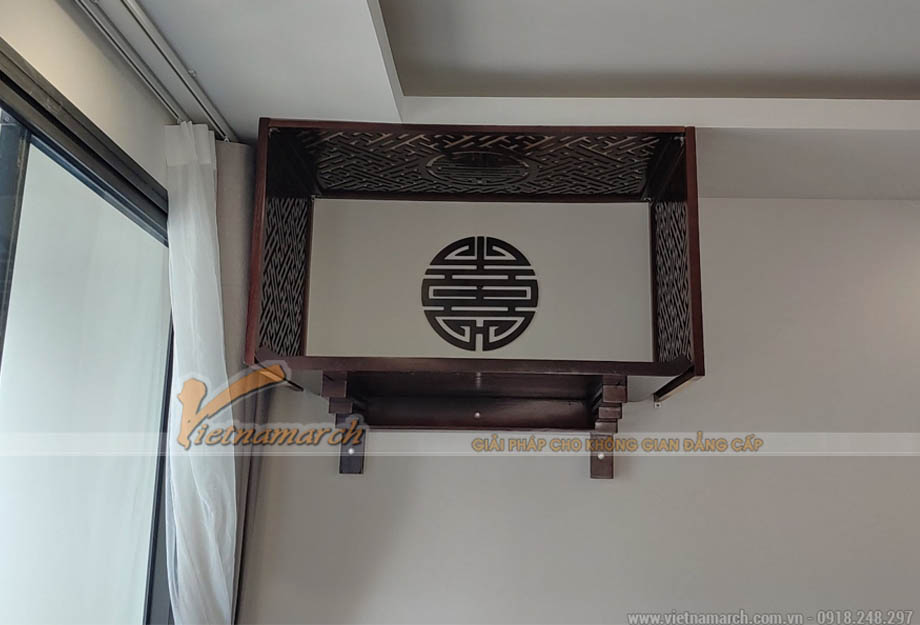 Mua bàn thờ gỗ hương tại Imperia Sky Garden 423 Minh Khai
