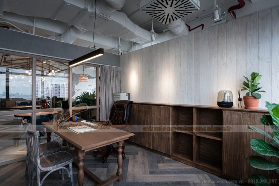 Thiết kế nội thất văn phòng bất động sản Unipro