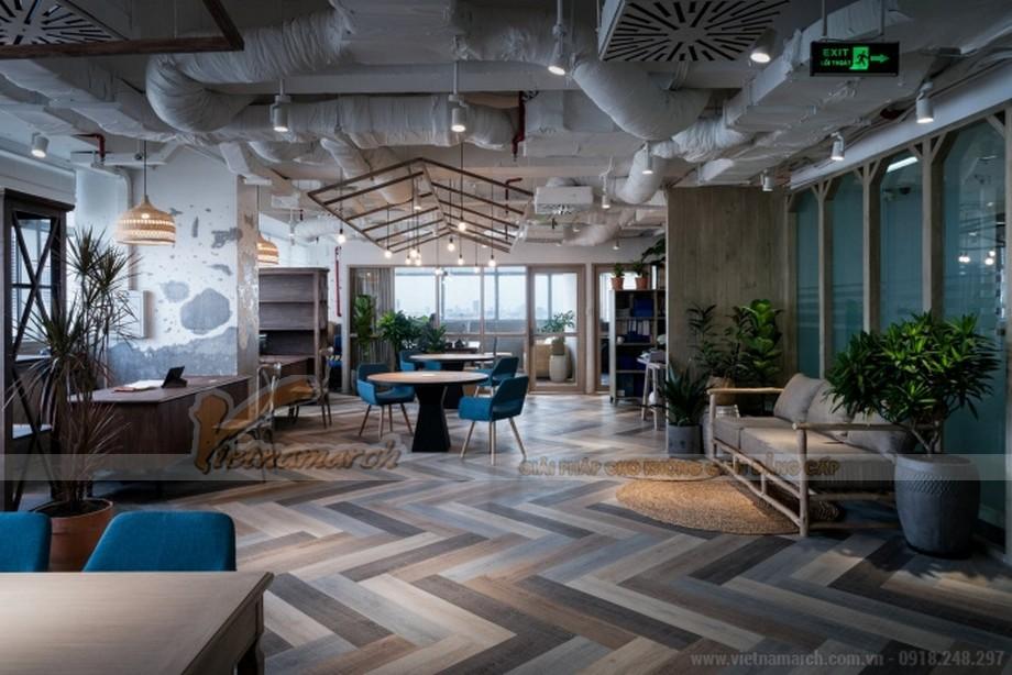 Mẫu thiết kế nội thất văn phòng công ty bất động sản Unipro HCM