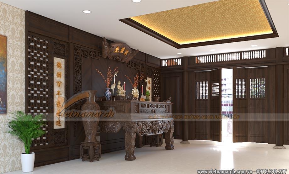 Thiết kế nhà thờ họ có hậu cung tại Hà Tĩnh