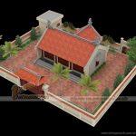 Thiết kế, thi công nhà thờ họ có hậu cung tại Hà Tĩnh