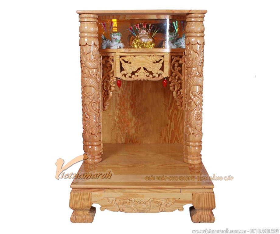 Bàn thờ thần tài cột điện từ 61cm